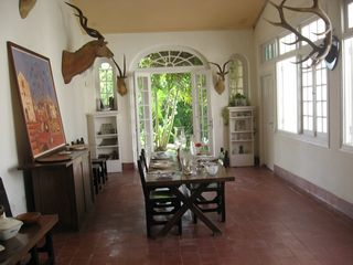 Dining room at FV