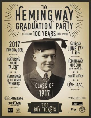Hemingway Graduation-BUY Poster