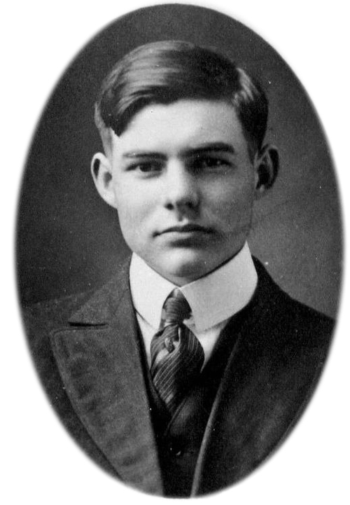 Hemingway in High School in Oak Park